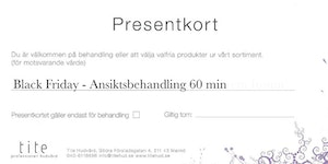 Black Friday - Ansiktsbehandling 60 min