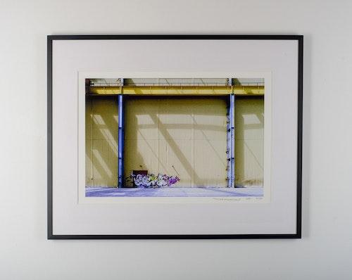 """malmö colorpalette"" black frame"
