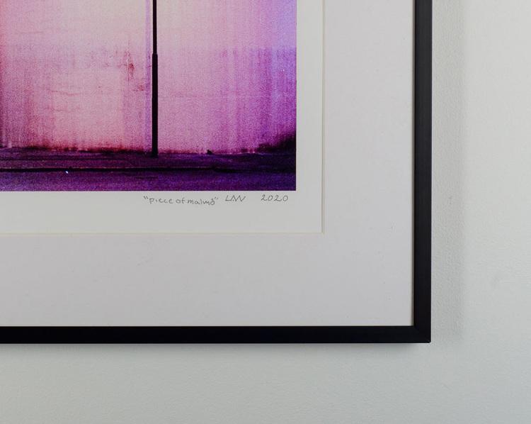 """""""piece of malmö""""  black frame"""
