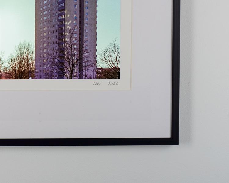 """""""högaholm"""" black frame"""
