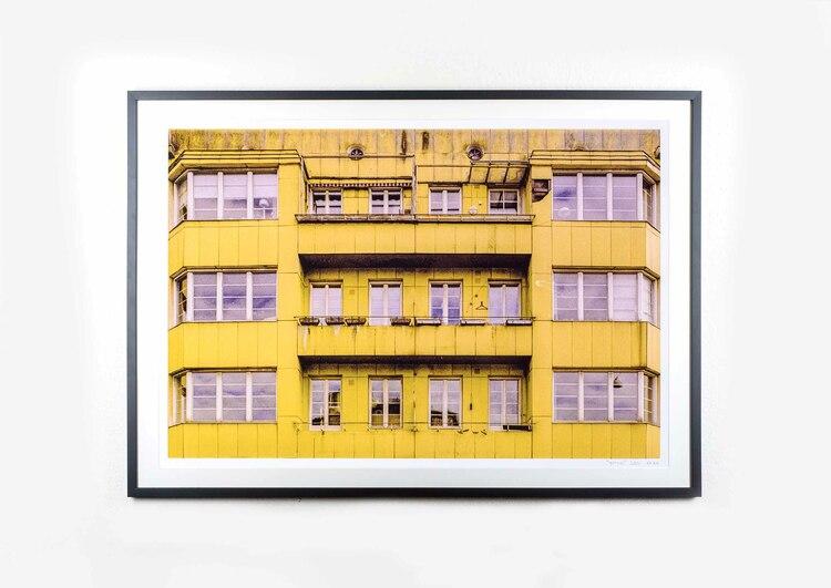 """""""gult hus"""" XL"""