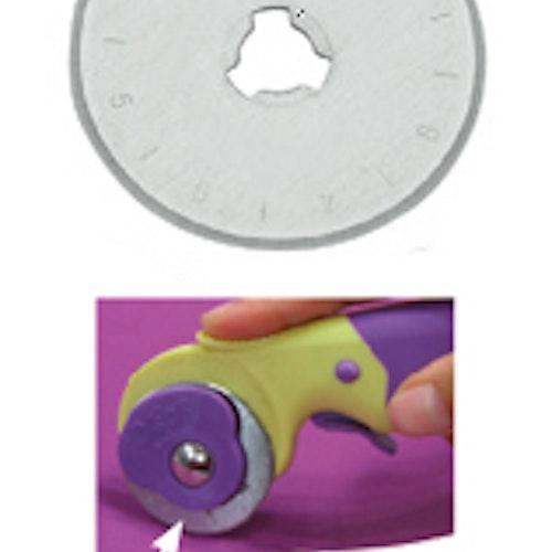 Skärblad 2-pack till TEXI Rullkniv 28 mm