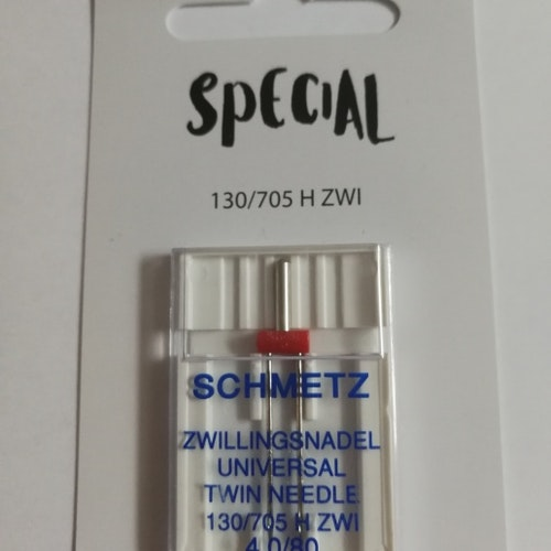 Nål TEXI - Schmetz Tvillingnål 4 mm Universal