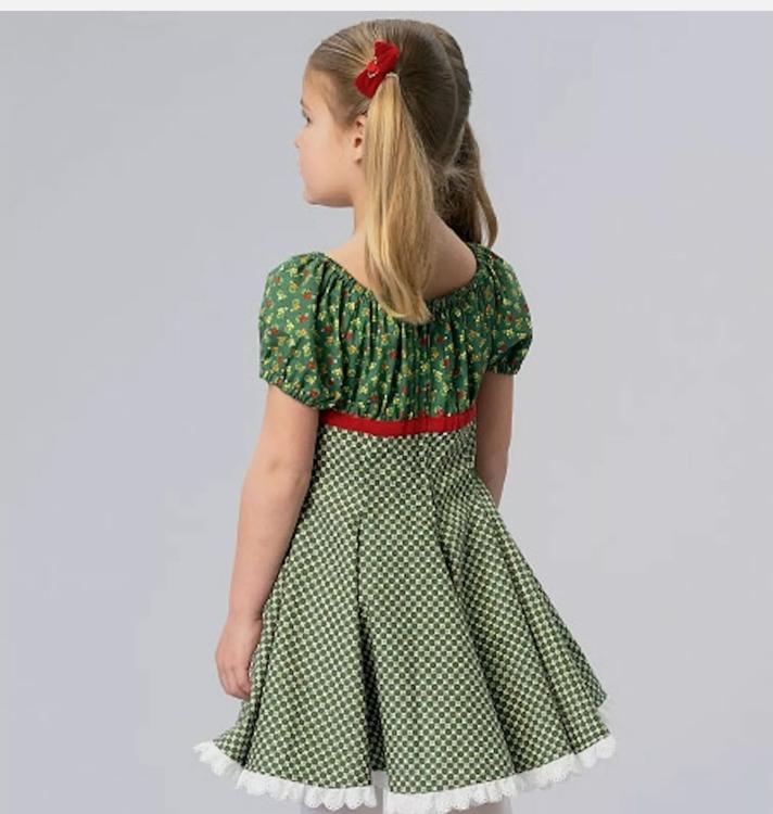 Kwik Sew k185- Klännning barn - Ellie mae