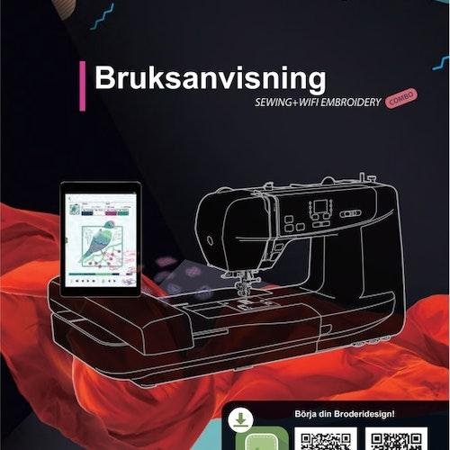 Alfa Duo sy och broderi Symaskin - Svensk manual, PDF , Första HALVAN av manualen i ett större filformat, del 1