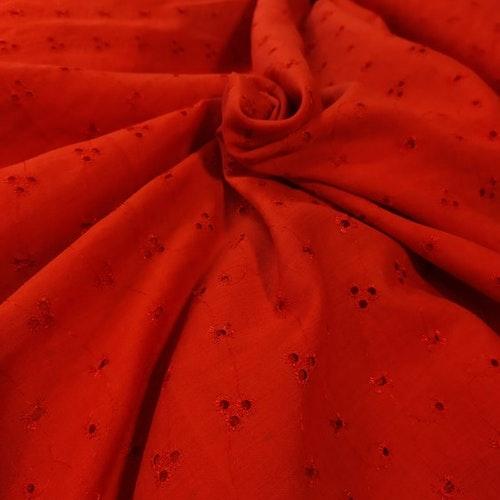 Andra sortering Broderi Angleis Röd 440