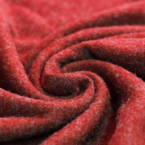 8dm klippt bit - No-angora Jersey röd