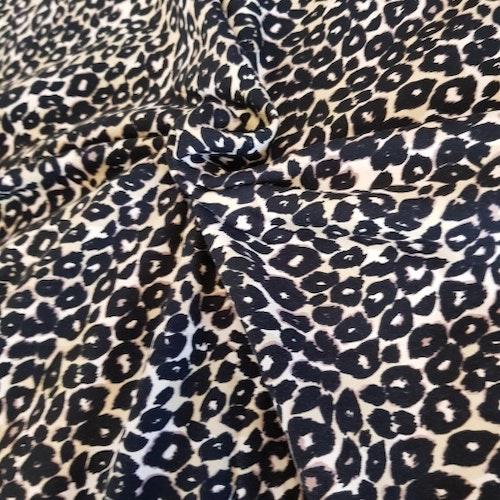 8dm klippt bit - College flossad baksida - Leopard