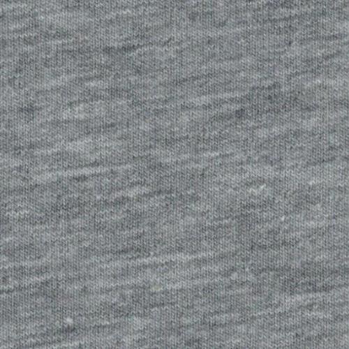 7dm klippt bit - College SVANTE flossad baksida - Ljusgrå melerad