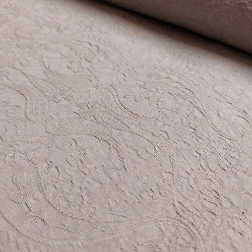 12dm klippt bit - SUPER stretchjeans - Vävd Jaquard Beige