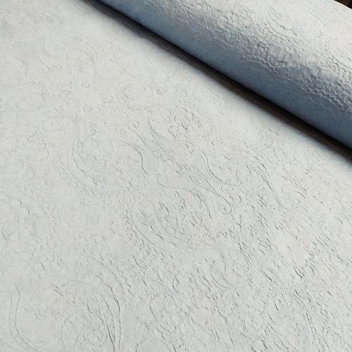 12dm klippt bit - SUPER stretchjeans - Vävd Jaquard Ljust grå