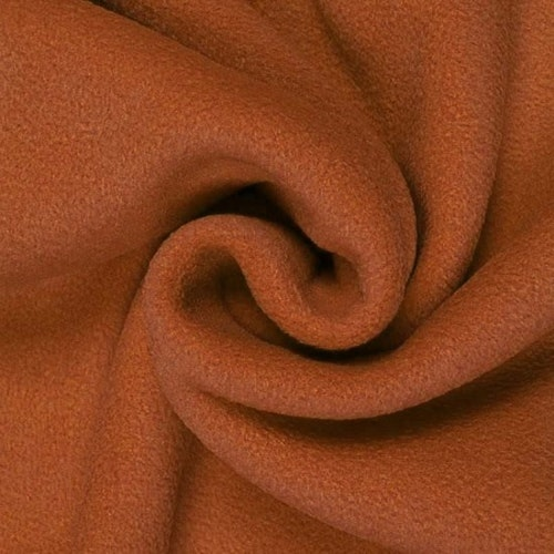 6dm klippt bit - Fleece Polyester Konjak
