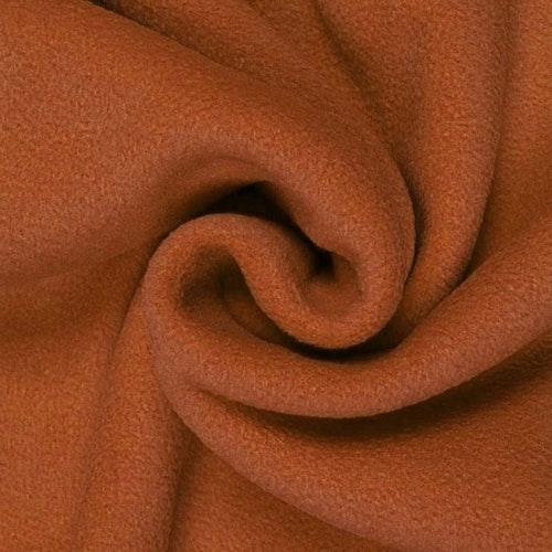 7dm klippt bit - Fleece Polyester Konjak
