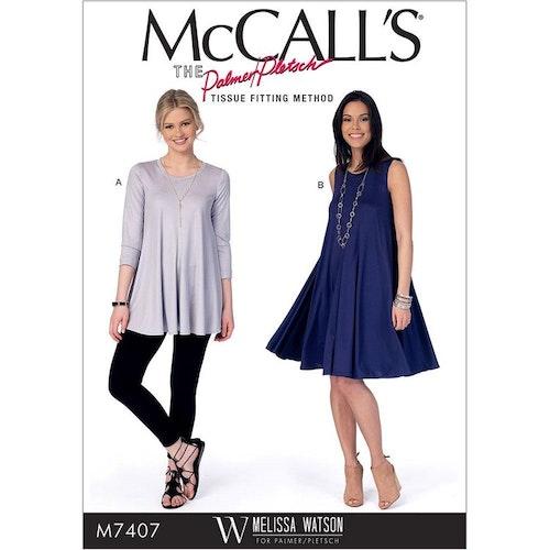 McCalls 7407 A5 OBS storlek 6-14