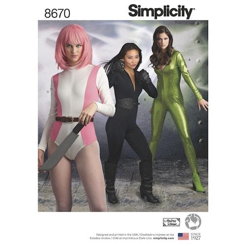 Simplicity 8670 U5 Dam Storlek 42-50
