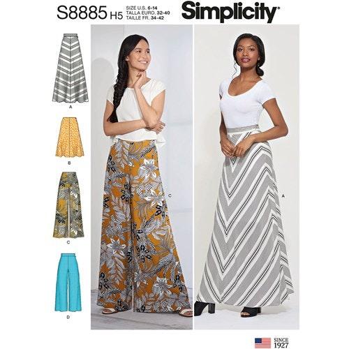 Simplicity 8885 R5 Dam Storlek 40-48 Flera plagg