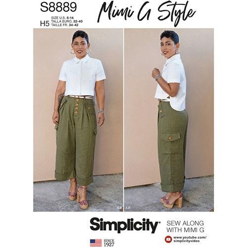 Simplicity 8889 U5 Dam Storlek 42-50 Flera plagg