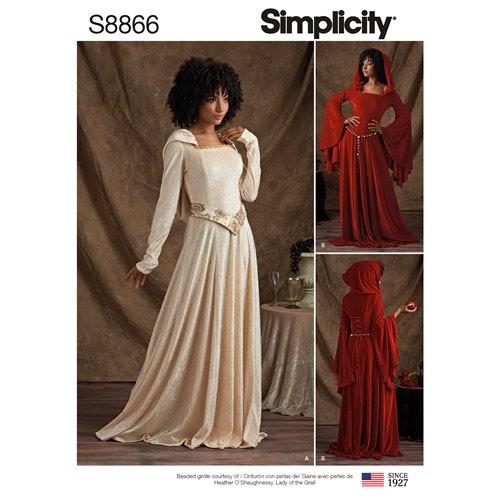 Simplicity 8866 R5 Dam Storlek 40-48