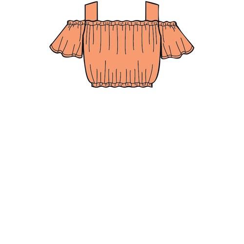 Simplicity 8936 HH Barn Storlek 3-6 Flera plagg
