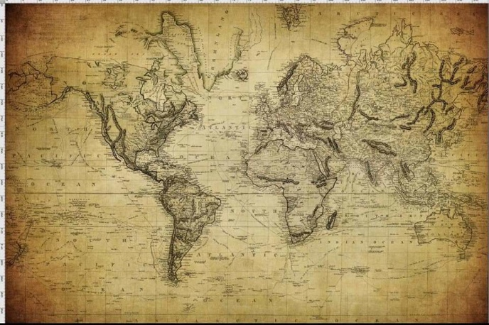 Rapport - Världskarta