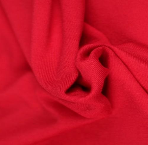 Viskosjersey Röd