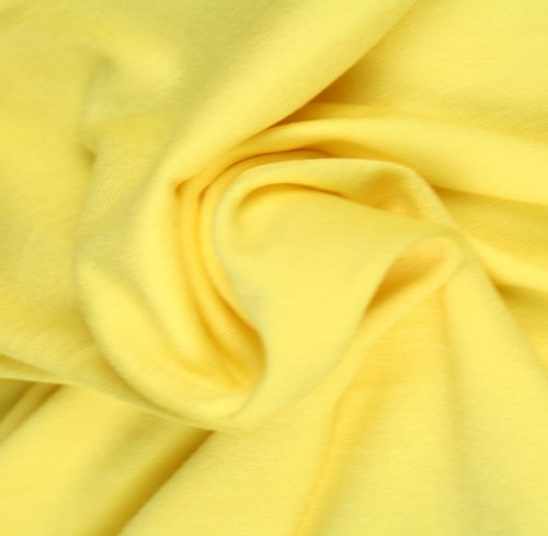 Viskosjersey Ljusare gul
