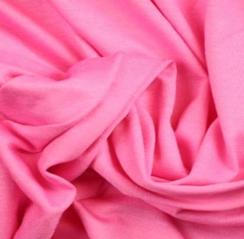 Viskosjersey Bugg-rosa