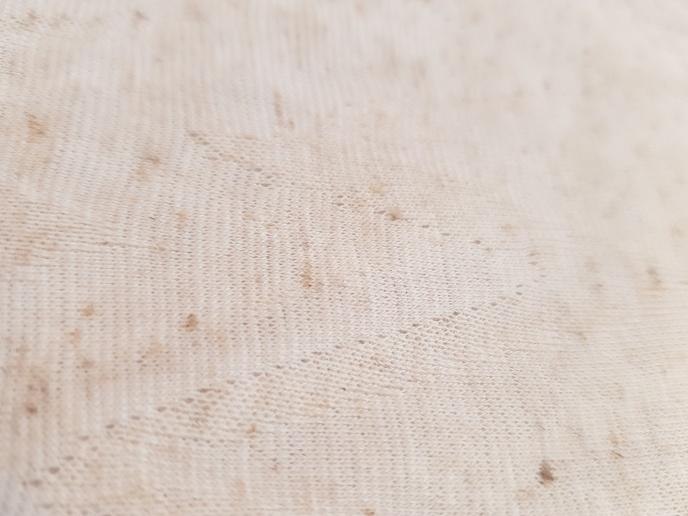Viskos/lin trikå präglad yta
