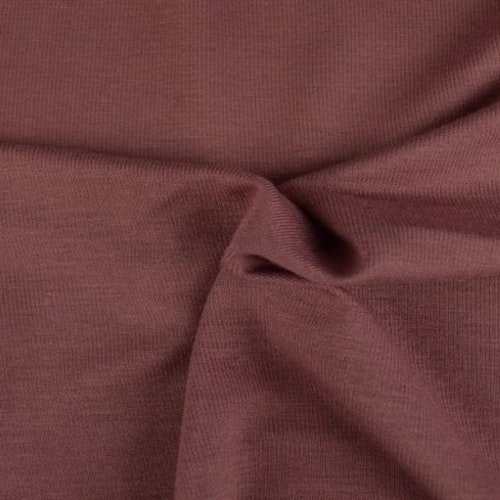 Viskosjersey Vintage pink