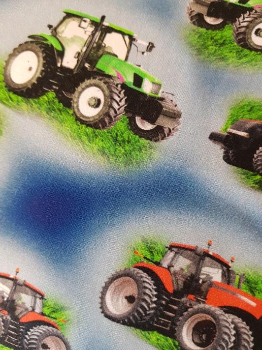 Bomullstrikå - Traktor