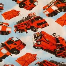 Bomullstrikå - Brandbilar