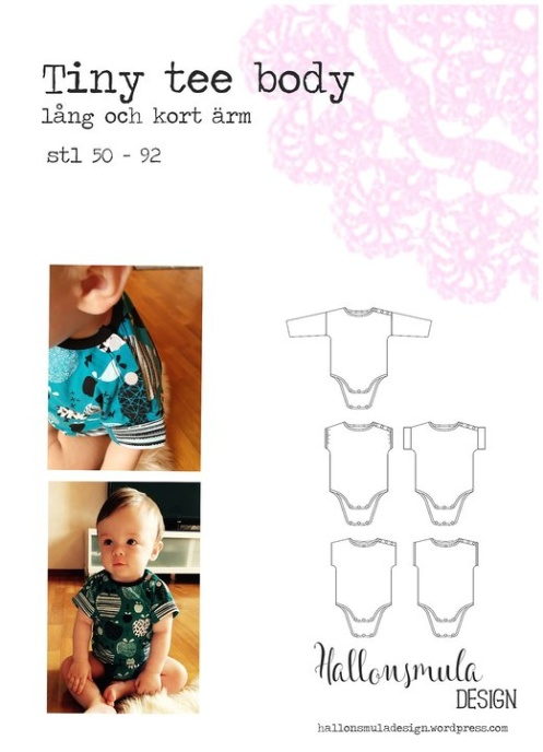 Hallonsmula Tiny Tee Body