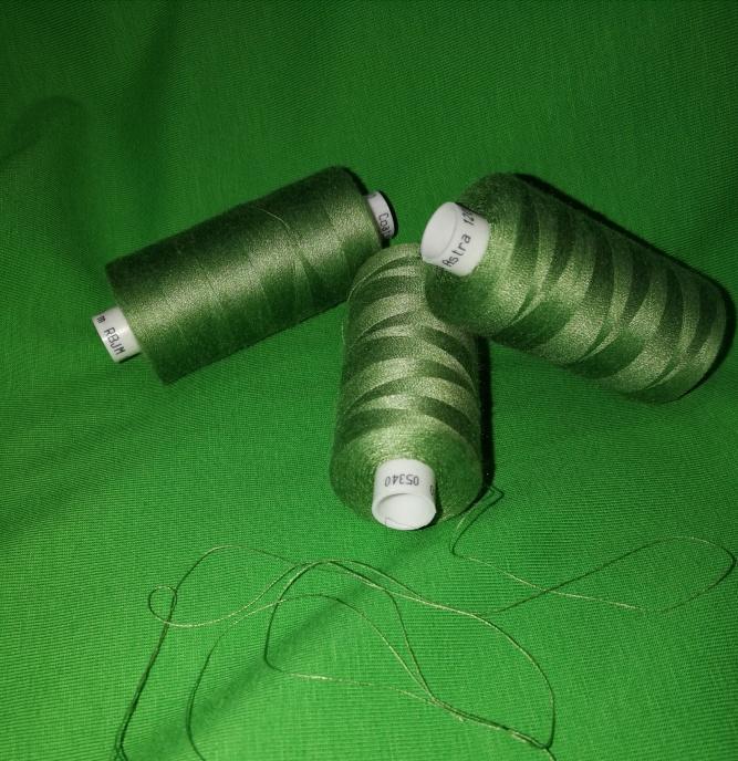 Coats tråd Gräsgrön