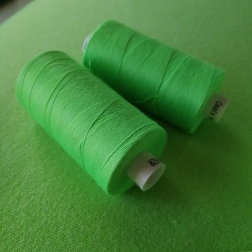 Coats tråd Neon grön