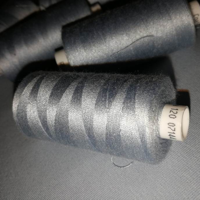 Coats tråd Mellangrå