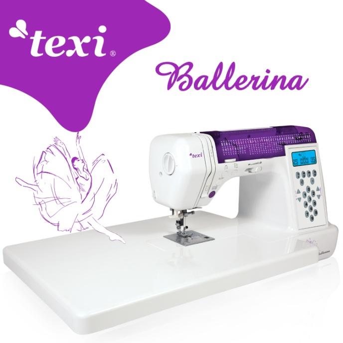 TEXI - Ballerina Inkl. startset & bandkantare