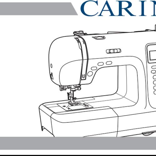 Carina symaskin - Svensk manual