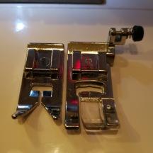 Smalare och kortare pressarfot för universalsömnad Lisa 1003