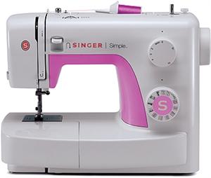 SINGER® Simple 3223 RETRO inkl Luna Bandkantare, tvillingnål och extra trådpinne