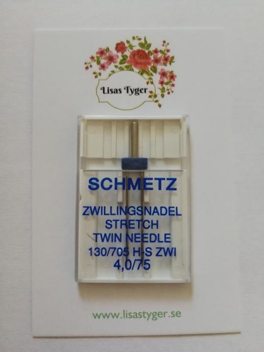 Nål Schmetz Stretch Tvillingnål 75 4 mm