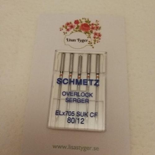Schmetz Overlock ELx705 SUK CF 80/12