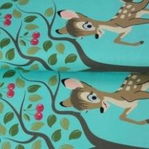 STENZO Bomullstrikå - Bambi Jadegrön