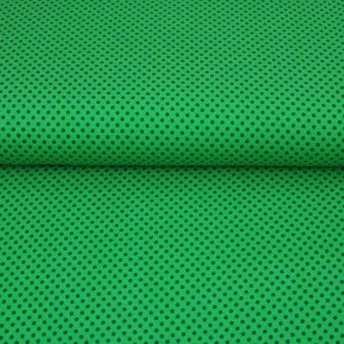 STENZO Bomullstrikå - Grön med prickar