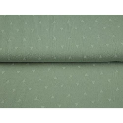 College STENZO öglad baksida - Grön med trianglar