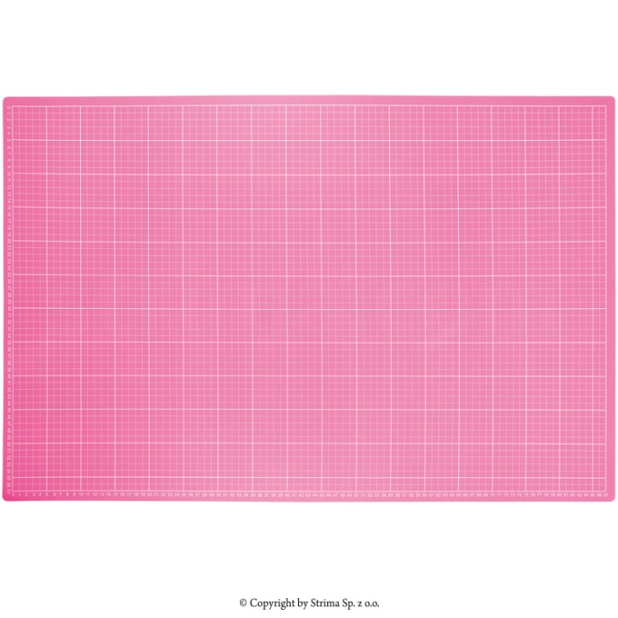 Skärmatta 60x90 cm - Rosa
