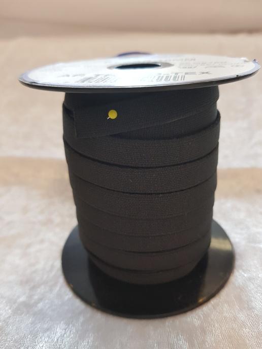 Resår 1 cm - Vit eller Svart
