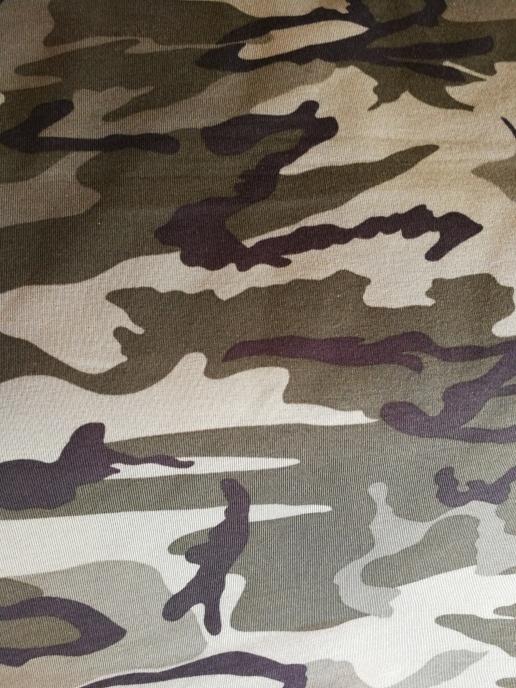College öglad baksida - Militärgrön Camouflage