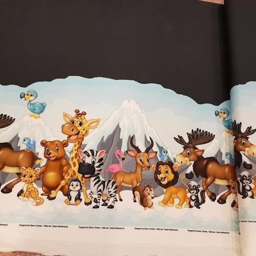 Bomullstrikå - Glada djur