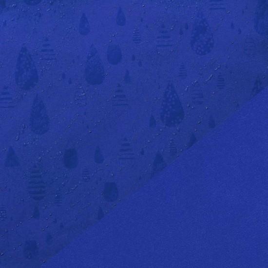 SOFTSHELL MAGIC - Kornblå med vattendroppar