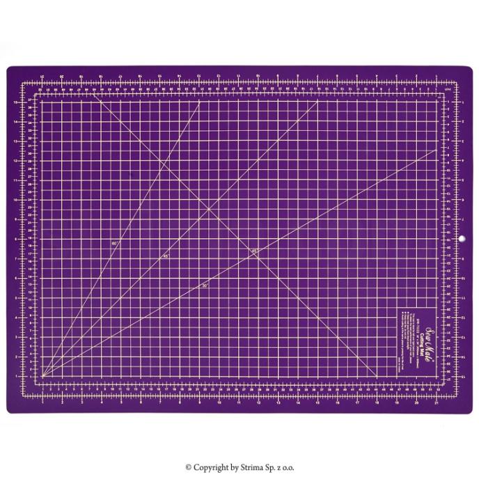 Skärmatta 30x45 cm - Lila